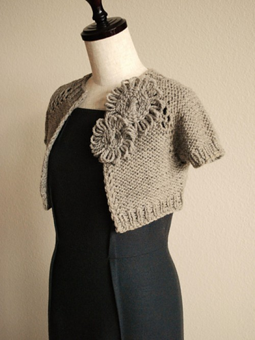 Anthropologie-Inspired Capelet - Free Pattern
