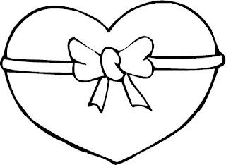 דפי צביעה קישוט לבבות