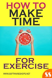 How to make time for exercise