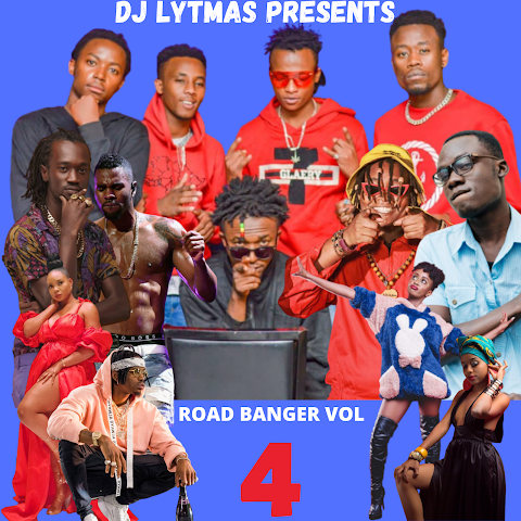 DJ LYTMAS - ROAD BANGER VOL 4 MIXTAPE 2020(Gengetone,Dancehall,Bongo,Naija and Pop)