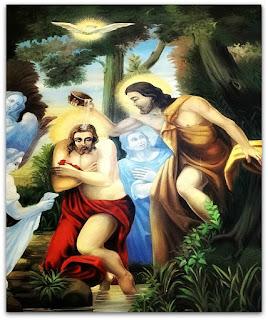 Batismo de Jesus - Igreja Matriz de Nova Bréscia (RS)