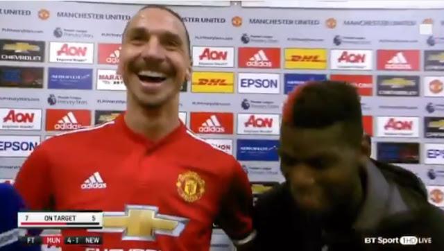 Zlatan Man Utd