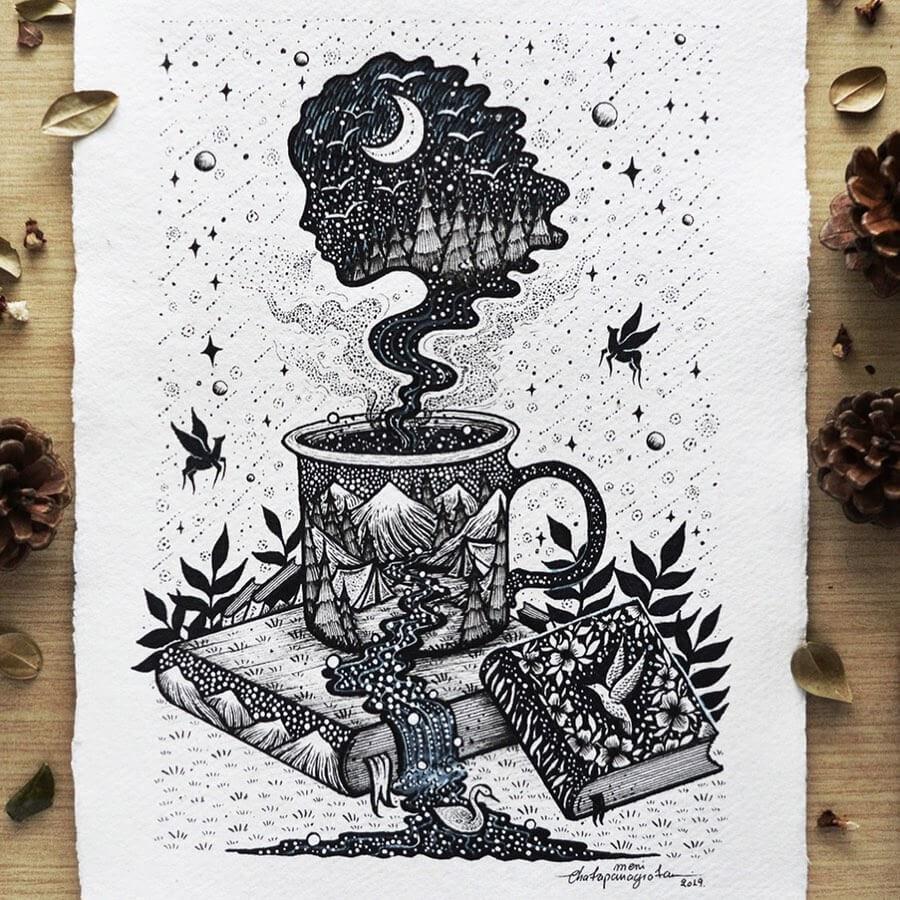 01-Hot drink and book-Melpomeni-Chatzipanagiotou-www-designstack-co