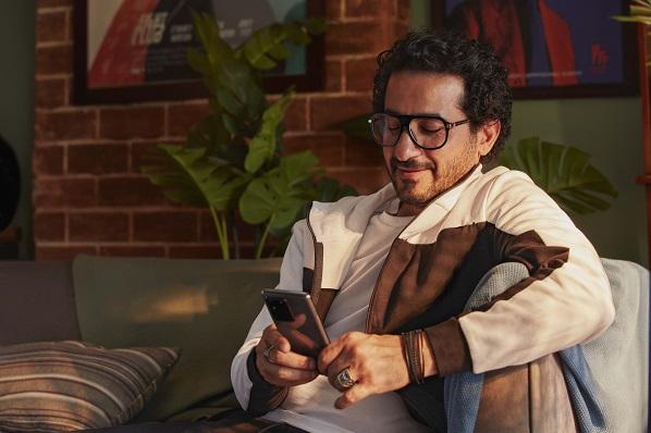 Samsung brand ambassador Ahmed Helmy