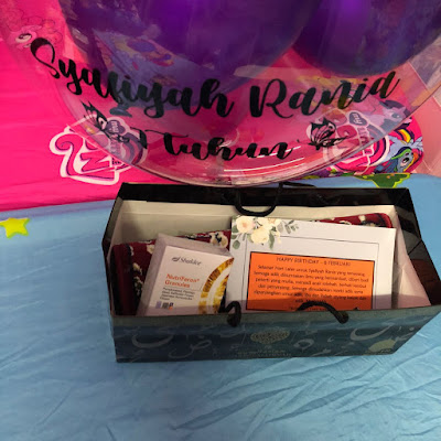 Surprise Birthday Syafiyah Raisha