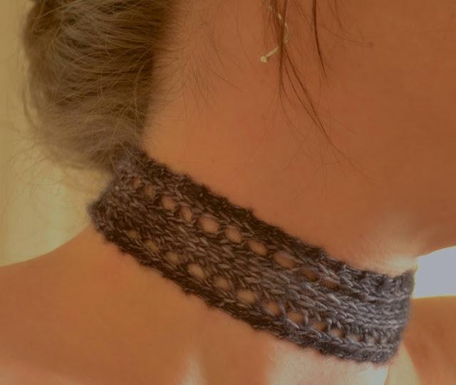 Nameless Choker Free Knitting Pattern