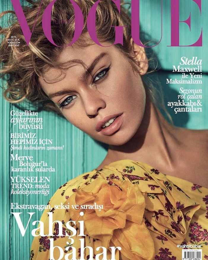Stella Maxwell Vogue Turkey