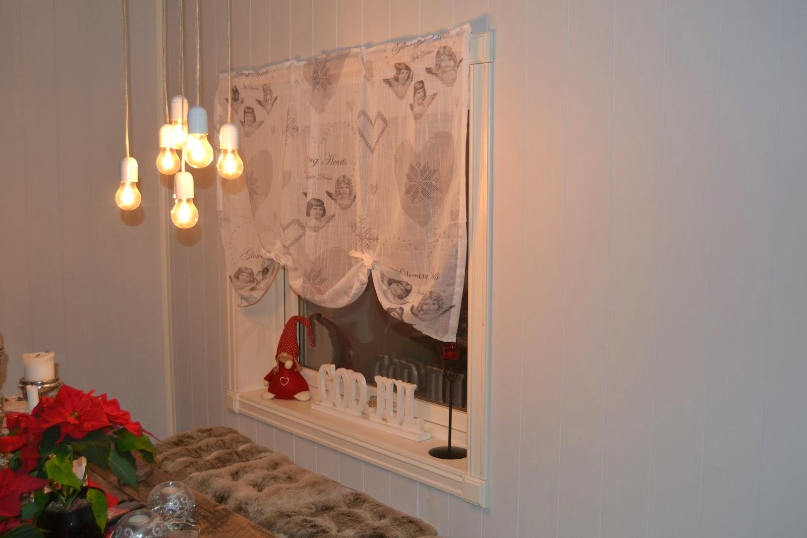Enormt Madeleines Hjem: DIY- Julegardiner! IM-14