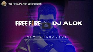 DJ Alok Free fire Akan Menjadi Karakter yang Dapat Diputar di Garena Free Fire