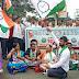भारत बंदला पाठिंबा देत डोंबिवलीत राष्ट्रवादीचे ठिय्या आंदोलन