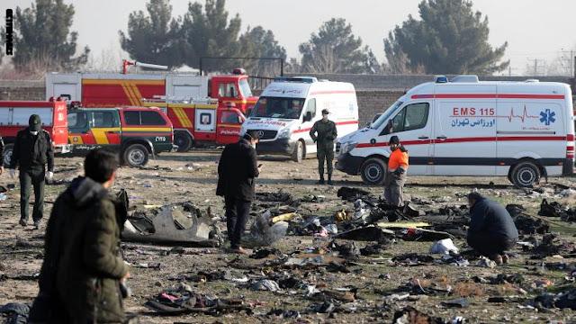 إيران تنفي تقارير إسقاط الطائرة الأوكرانية بضربة صاروخية.. وأوكرانيا لا تستبعد
