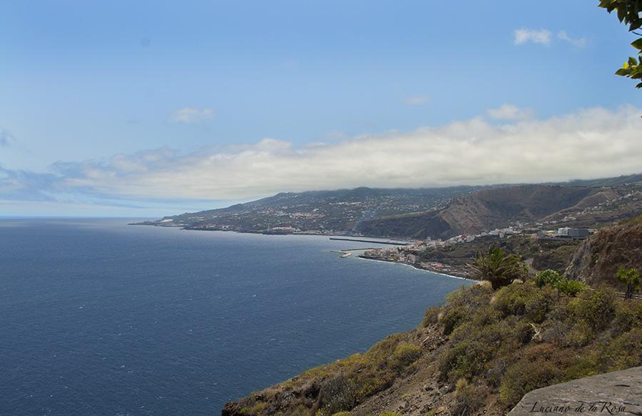 Mirador / merendero San Juanito en la isla de La Palma (Islas Canarias)