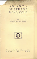 Cover of Howe pamphlet