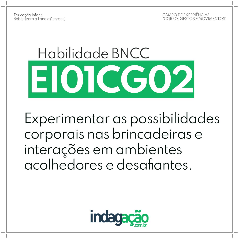 Habilidade EI01CG02 BNCC
