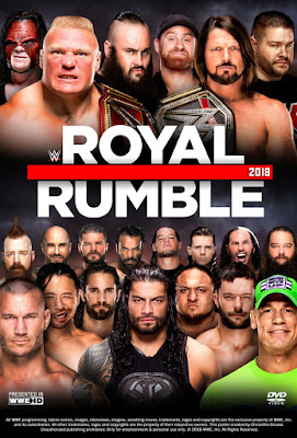 WWE Royal Rumble 2018 Custom HDRip NTSC Latino