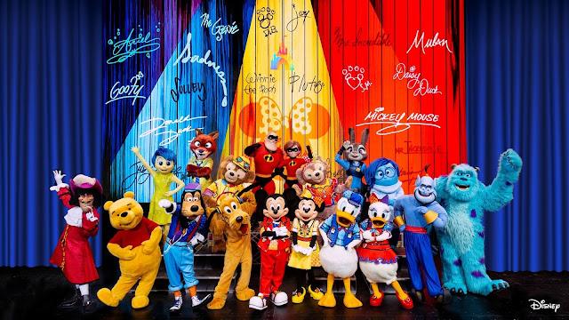 Disney, Disney Parks, SHDL, Shanghai Disneyland, 上海迪士尼樂園, 迪士尼彩色慶典, Disney Color-Fest