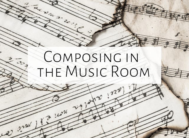 Composing in the Music Room