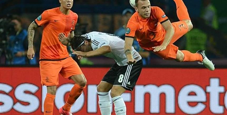 الهدف الاول لفريق انجلترا على هولندا في دوري الامم الاوروبية