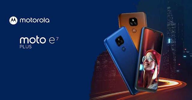 سعر ومواصفات هاتف موتورولا موتو اي 7 بلس Motorola Moto E7 Plus