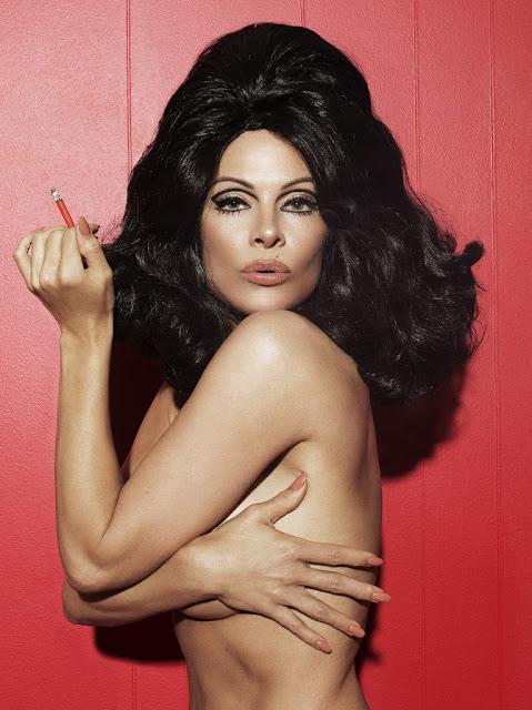 Pamela Anderson naked photos retro style - Paper Magazine