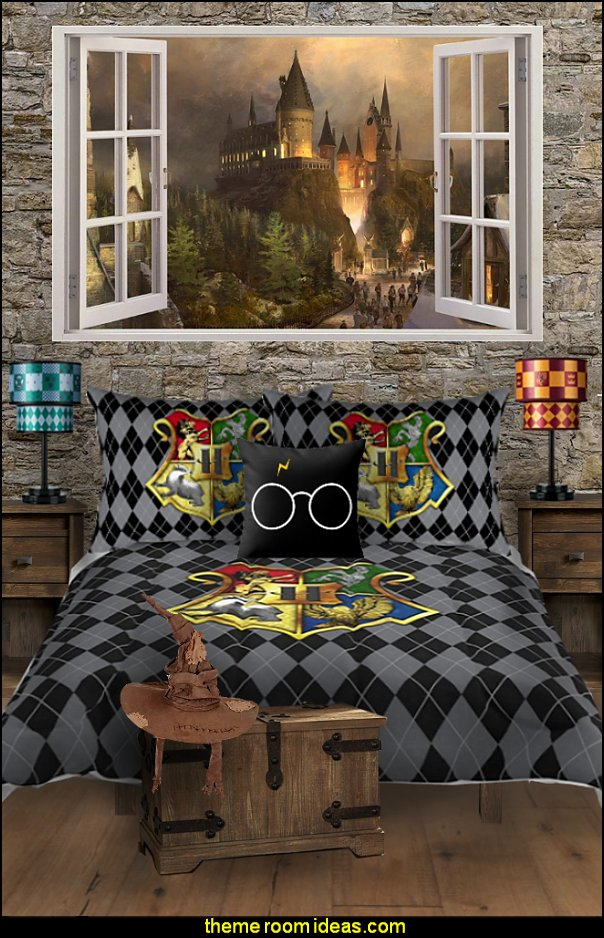 harry potter bedding harry potter mural harry potter bedrooms