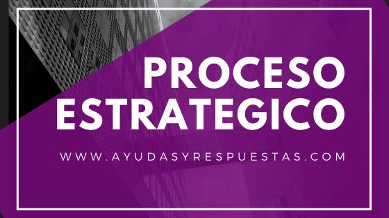 proceso estrategico