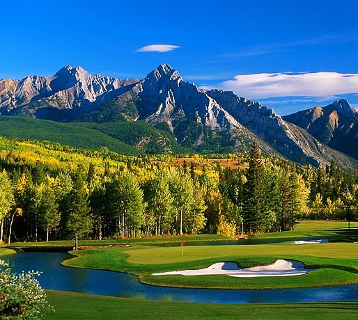 Golf Course Fall Season Wallpaper Pc Last Minute Golf Deals At Canadian Rockies Golf Canadian