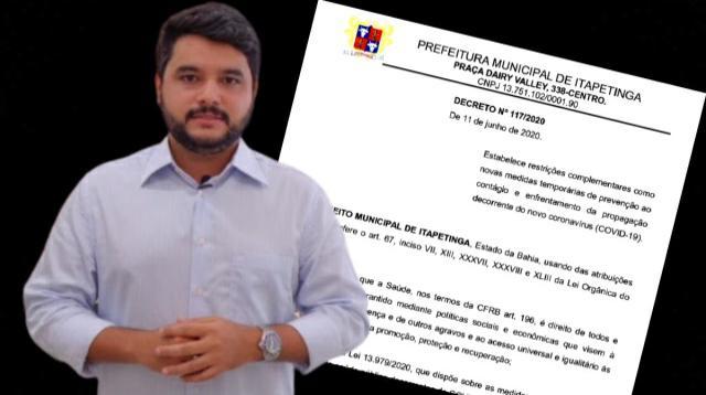 Após Decreto, Rodrigo Hagge precisa optar entre salvar vidas ou agradar CDL e Pastores