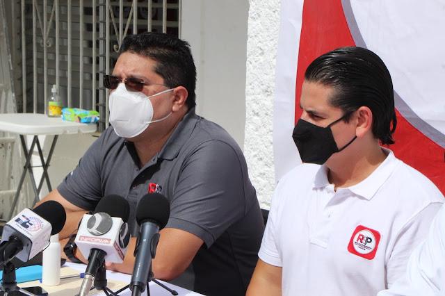 En RSP rompemos inercias y trabajamos a favor de las libertades: Mario Jiménez Navarro. Antonio Sánchez
