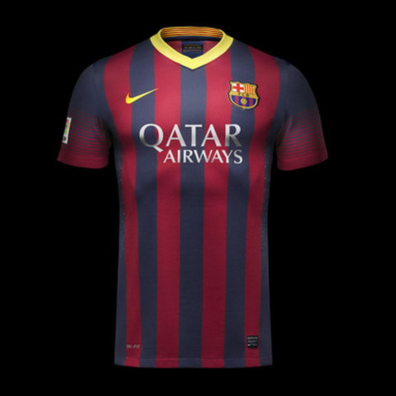 Barcelona release new home kit for 2013/14 season