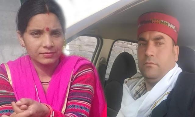 हिमाचल: चलती कार पर गिरी गाय, नदी में समाई कार, पति पत्नी की मौत