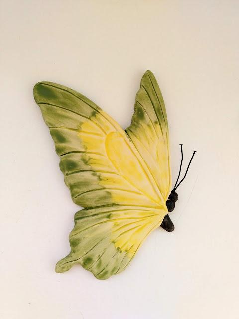 mariposa hecha a mano