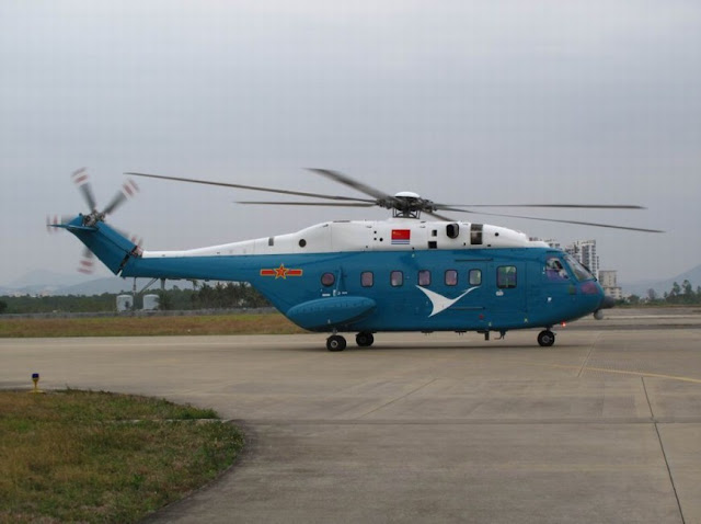 Z-18 transport helicopter