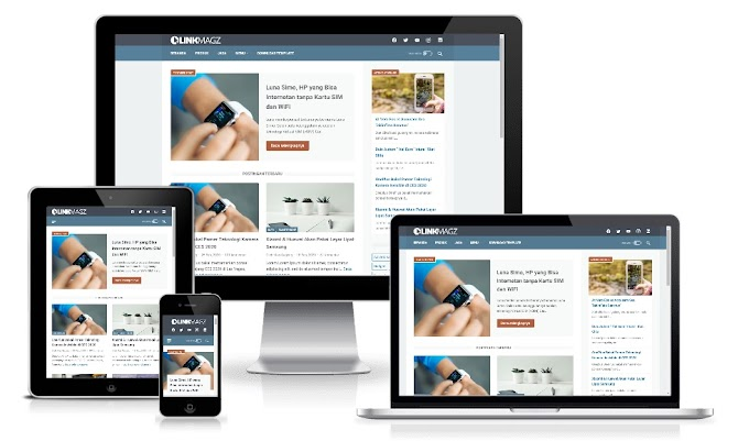LinkMagz v2.6 Responsive Blogger Template