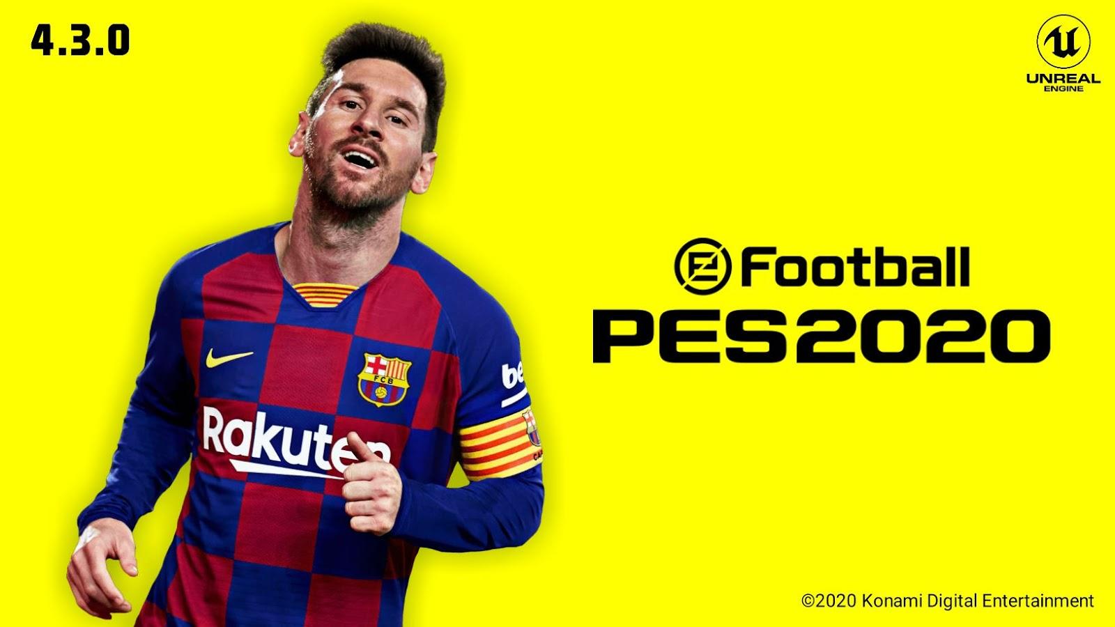 eFootball Pro Evolution Soccer 2020 Mobile v4.3.0 Android
