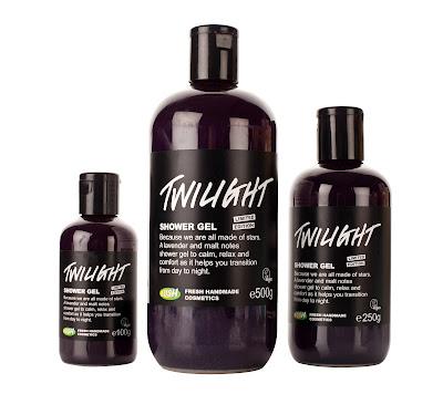 Lush X-mas weihnachten sortiment produkte 2012 twilight duschgel