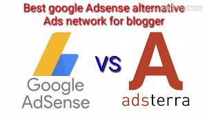 Google Adsense alternative ads network for blogger website.