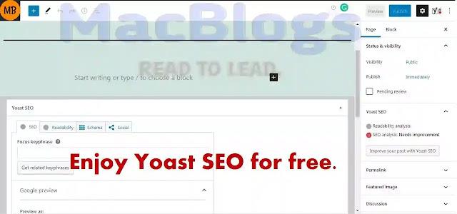 use yoast seo