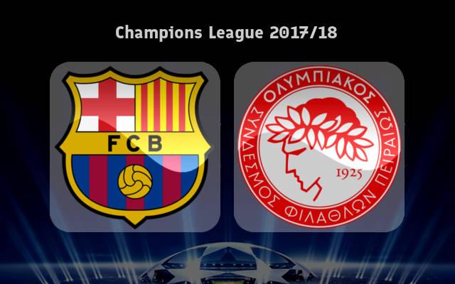 Barcelona vs Olympiacos Full Match & Highlights 18 October 2017