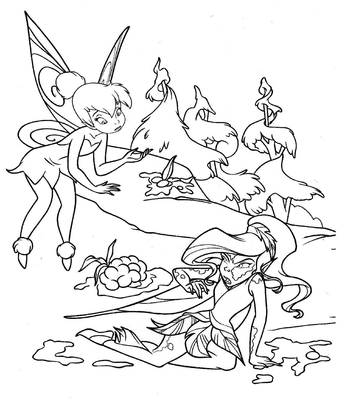 Dibujos De Hadas Para Colorear