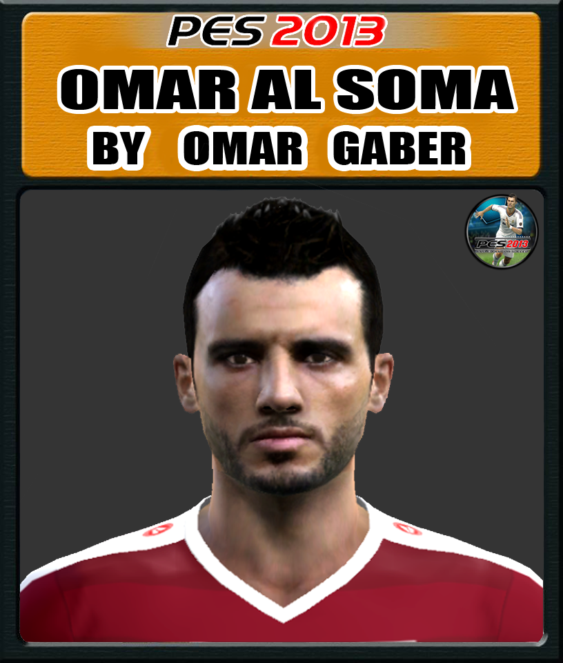 PES 2013 Omar Al Soma face by Gedo 22 facemaker