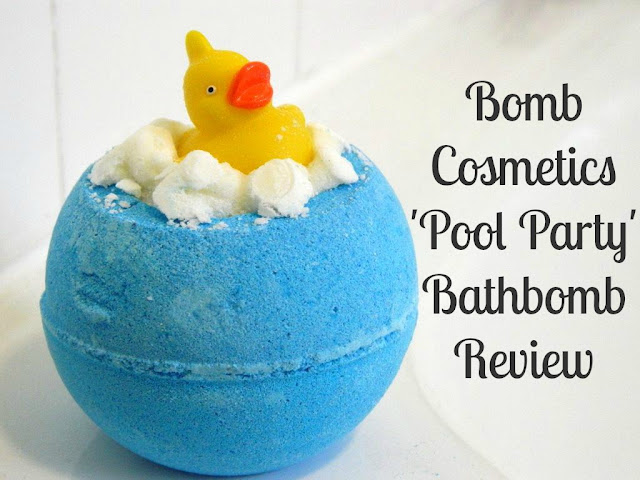 Bomb Cosmetics Pool Party Review
