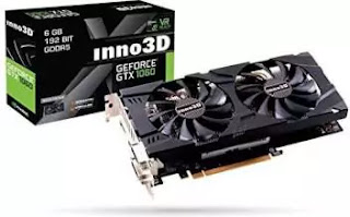 Geforce GTX 1060 6Gb graphics card