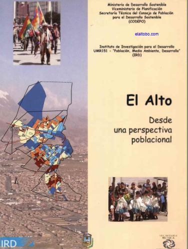 Publicaciones sobre El Alto, Bolivia