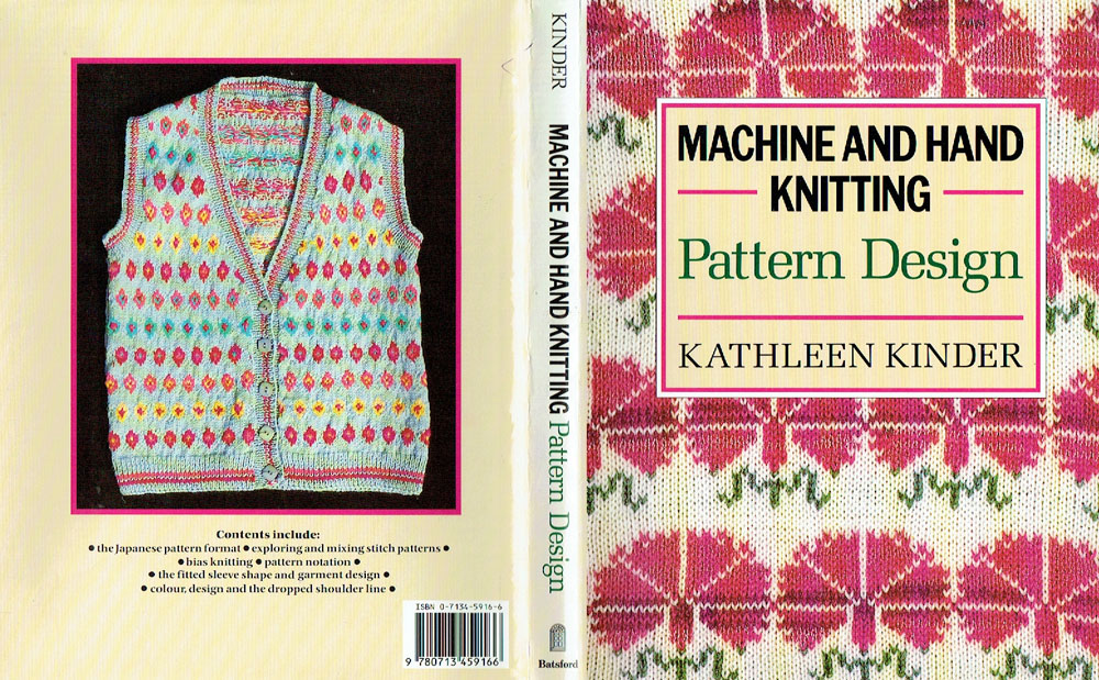 Tamoui: Machine and Hand Knitting Pattern Design Kathleen Kinder