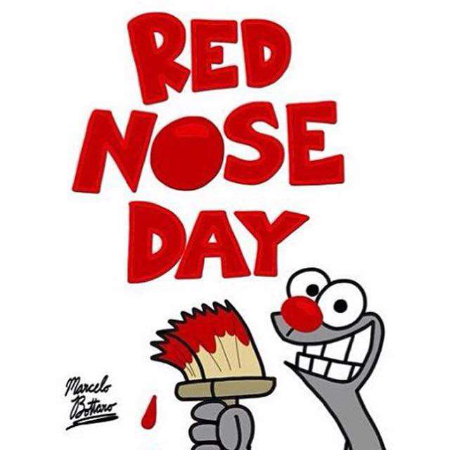 Red Nose Day Wishes Unique Image