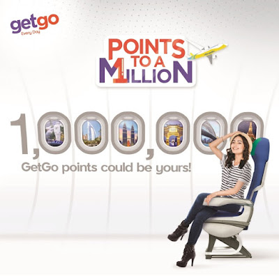 Get 1 million points, unlock millions of travel possibilities with GetGo