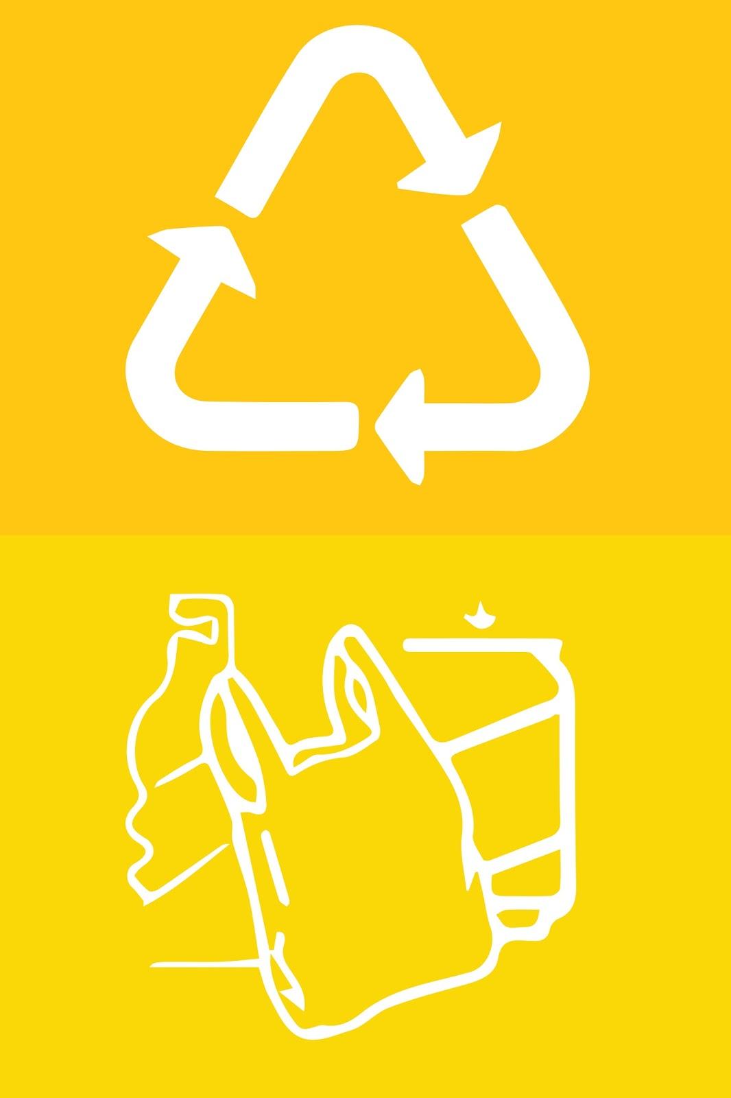 Label Logo Kitar Semula Kertas