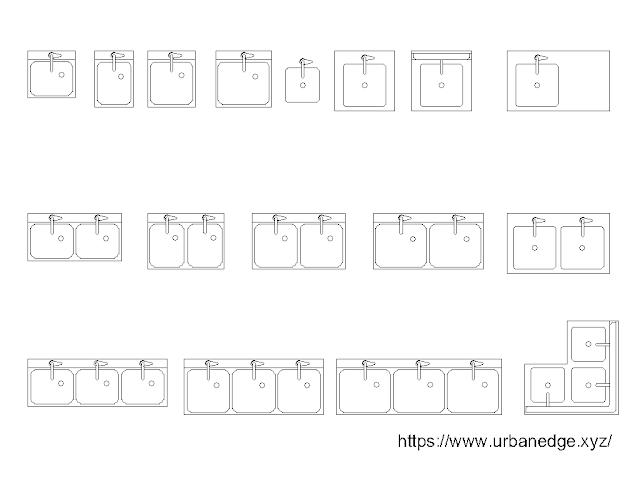 Commercial sink free cad blocks download - 15+ free cad blocks download