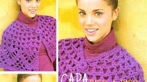 Capa Crochet para tejer en 1 hora / Paso a paso